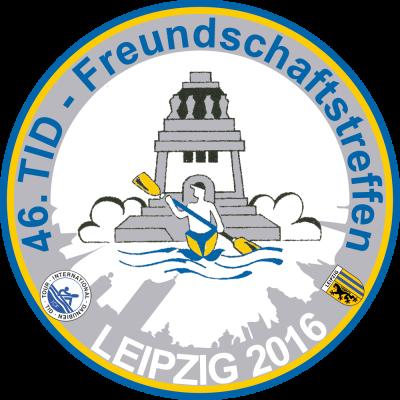 Logo des 46. TID - Freundschaftstreffens in Leipzig 2016