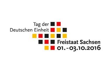 Logo zum Tag der deutschen Einheit in Dresden 2016