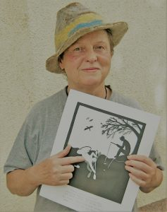 Carmela Wiener: Paddlerin und Karikaturistin...