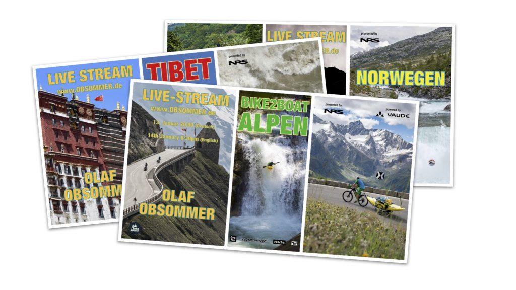 Abenteuer Kajak | Livestream BIKE2BOAT von Olaf Obsommer