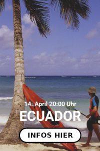 Grönland - Galapagos - Ecuador | Livestream mit Olaf Obsommer