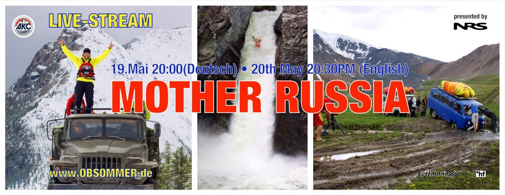 Olaf Obsommer Livestream: MOTHER RUSSIA