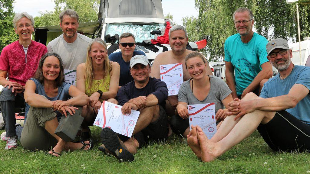 TeilnehmerInnen beim EPP 4 Touring aus Leipzig, Oldenburg, Hildesheim und Berlin.